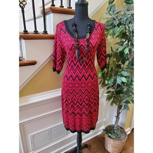 Allison Brittney Sweater Dress Large